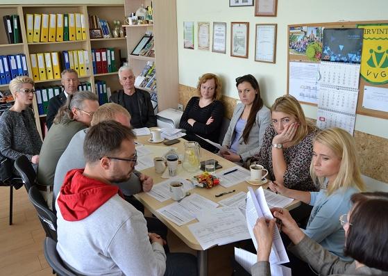 Planuojamas VVG valdybos posėdis