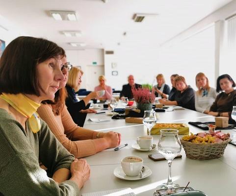 Susitikimas su Kauno apskrities VVG